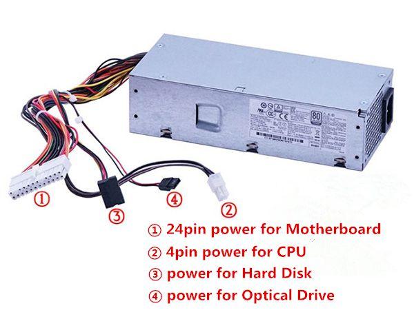 HP Computer-Netzteile 848050-001