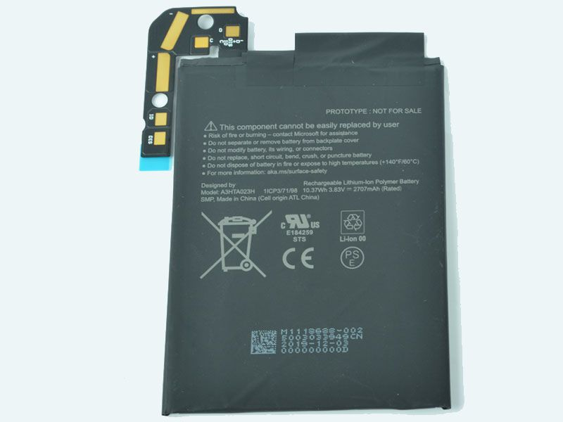 MICROSOFT Tablet Akku A3HTA023H