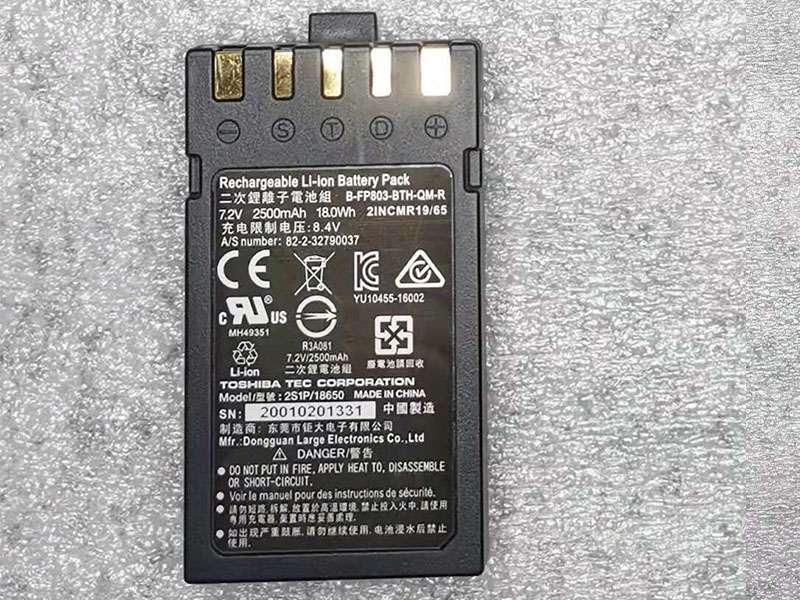 Toshiba Ersatzakku B-FP803-BTH-QM-R