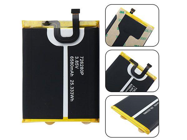 BLACKVIEW Handy Akku 726280P