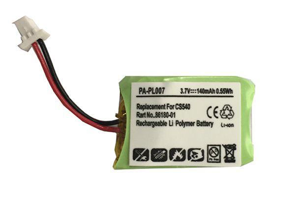 Co54 Battery 140mah 0 55wh 3 7v Plantronics Cs540 Co54 84479 01 Wireless Headset Www Batteryclub Org