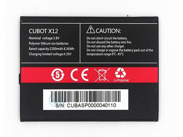 CUBOT Handy Akku X12