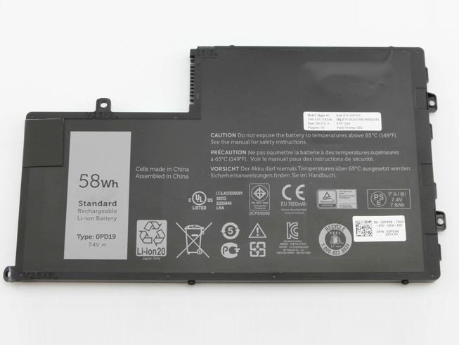 DELL Laptop Akku 0PD19
