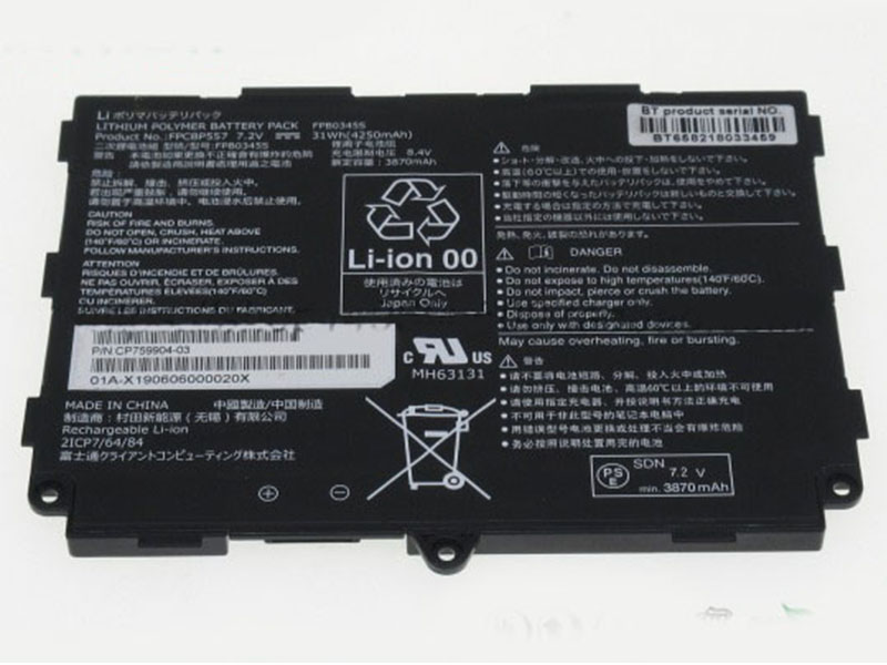 FUJITSU Laptop Akku FPB0345S