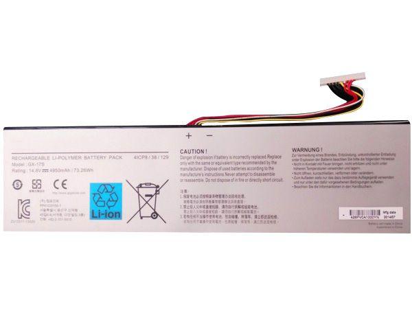 GIGABYTE Laptop Akku GX-17S