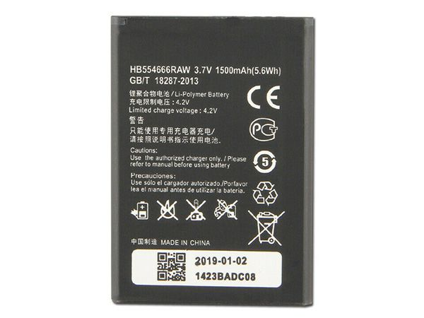 HUAWEI Handy Akku HB554666RAW