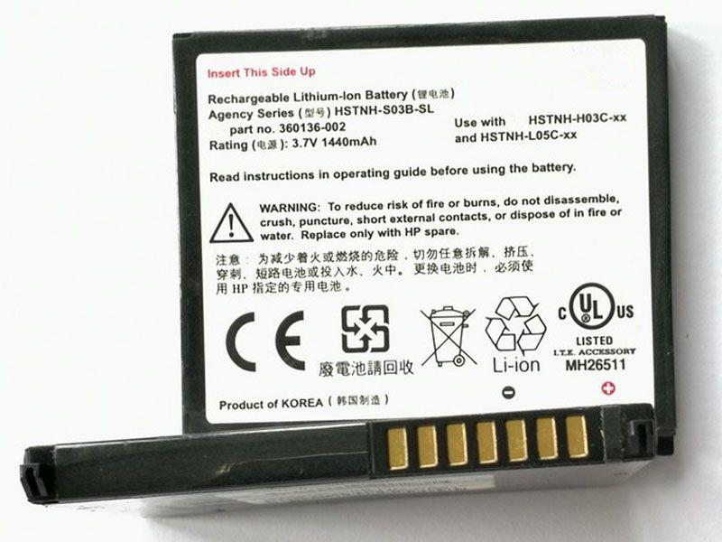 HP Tablet Akku HSTNH-S03B-SL