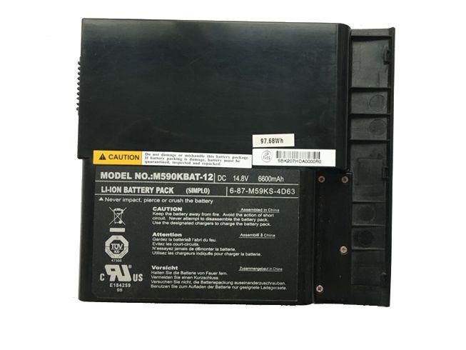 CLEVO Laptop Akku M590KBAT-12