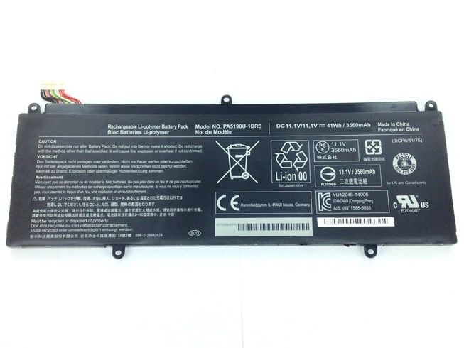 TOSHIBA Laptop Akku PA5190U-1BRS