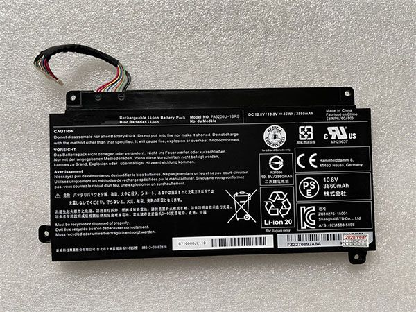 TOSHIBA Laptop Akku PA5208U