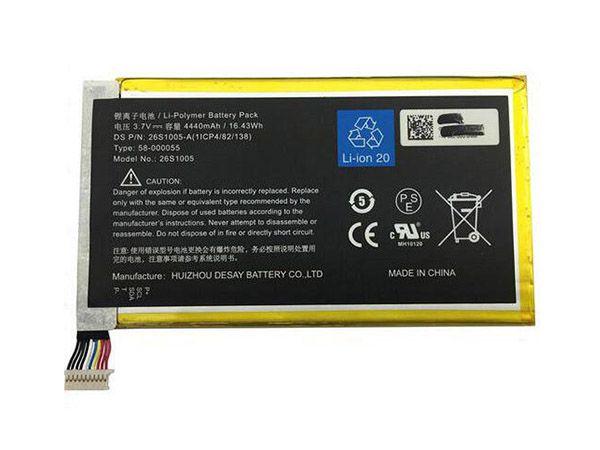 AMAZON Tablet Akku 26S1005