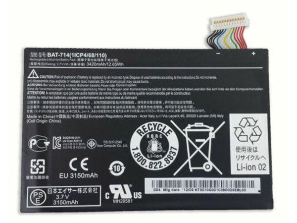 ACER Tablet Akku BAT-714