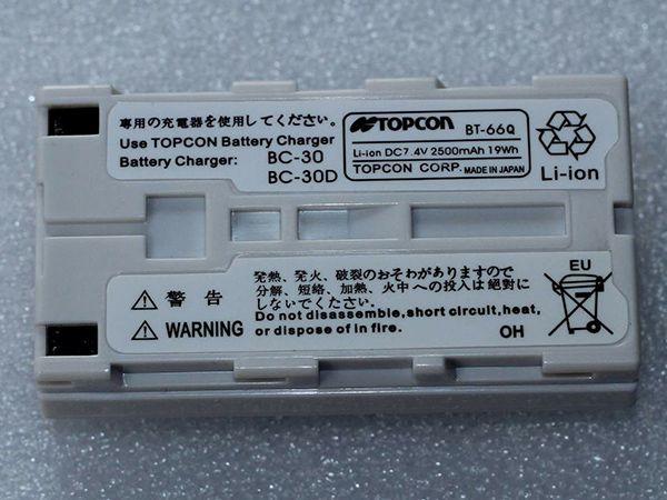 Nouveau remplacement TOPCON BT-66Q Batterie pour Topcon RC-3 FC-200 GPT-7500 BT-61Q