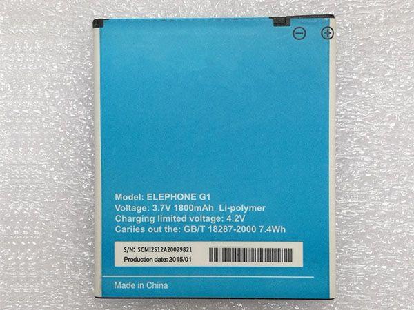 ELEPHONE Handy Akku G1
