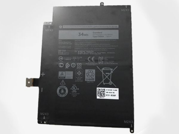 DELL Tablet Akku YX0XH
